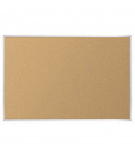 Best-Rite 301AM Valu-Tak 12 ft. x 4 ft. Aluminum Finish Bulletin Board