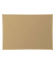 Best-Rite 301WM Valu-Tak 12 ft. x 4 ft. Wood Finish Bulletin Board