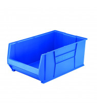 Akro-Mils Super-Size AkroBin Plastic Storage Bins (Shown in Blue)