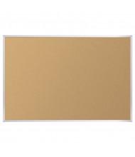 Best-Rite 303AP Natural Cork-Plate 16 ft. x 4 ft. Aluminum Finish Bulletin Board