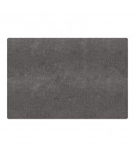 Carpets for Kids Mt. Shasta Rectangle Classroom Rug, Wolf Grey