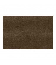 Carpets for Kids Mt. Shasta Rectangle Classroom Rug, Cocoa
