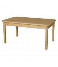 "Wood Designs 48"" W x 30"" D High Pressure Laminate Elementary School Tables"