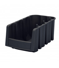 Akro-Mils Plastic Storage Shelf Bins in Black