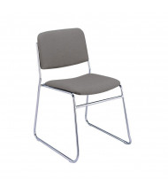 "KFI Seating 310 Fabric 1.5"" Padded Seat Stacking Chair (Grey)"
