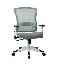 Office Star Space Seating Pulsar Mesh-Back Fabric Mid-Back Task Chair (Shown in Grey)
