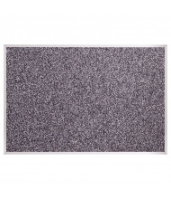 Best-Rite 321AK Rubber-Tak 10' x 4' Aluminum Finish Bulletin Board - Shown in Black