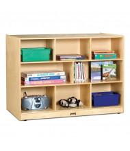 Jonti-Craft Super-Sized Double-Sided Island Classroom Storage Unit