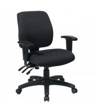 Office Star Work Smart Dual-Function Fabric Mid-Back Task Chair