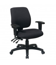 Office Star Dual-Function Fabric Mid-Back Task Chair