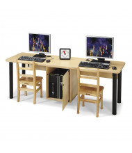 "Jonti-Craft 75"" W x 24"" D Computer Lab Table"
