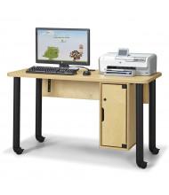 """Jonti-Craft 51"""" W x 24"""" D Computer Lab Table"""