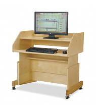 "Jonti-Craft Columbia 36"" W x 24"" D Computer Desk (Computer not included)"