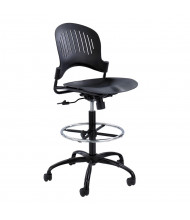 Safco Zippi 3386 Plastic Drafting Chair, Footring