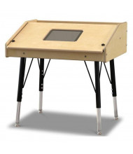 "Jonti-Craft 27"" W x 21"" D Single Tablet Table"