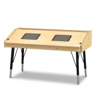 "Jonti-Craft 42"" W x 21"" D Dual Tablet Table"