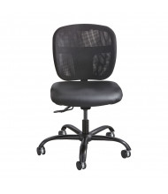 Safco Vue 3397BV Big & Tall 500 lb. Vinyl Seat Mesh Task Chair
