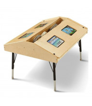 "Jonti-Craft 42"" W x 33"" D Quad Tablet Table"