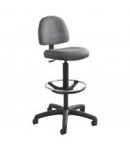 Safco Precision 3401 Fabric Drafting Chair, Footring