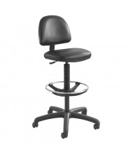 Safco Precision 3406 Extended Height Vinyl Drafting Chair, Footring