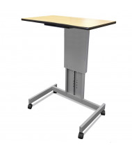Amplivox Height Adjustable Sit-Stand Lectern Desks