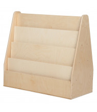 """Wood Designs Childrens Classroom Double Sided Book Display, 29"""" H x 30"""" W x 15.5"""" D (Shown in Birch)"""