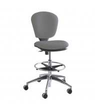 Safco Metro 3442 Fabric Drafting Chair, Footring