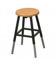 Balt Wood Lab Stool (Shown with Black Frame)
