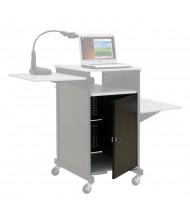 Balt 34445 Optional Locking Cabinet for Xtra Wide Presentation AV Cart