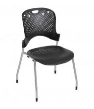 Balt Circulation Plastic Stacking Chair, 4-Pack