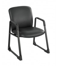 Safco Uber 3492BV Big & Tall 500 lb. Vinyl Guest Chair