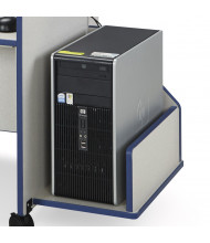 Jonti-Craft Rainbow Accents Discovery CPU Booth (Shown in Blue)