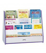 Jonti-Craft Rainbow Accents Double Sided Pick-a-Book Display Stand (Shown in Purple)
