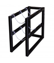 Justrite 3-Cylinder Barricade Storage Rack