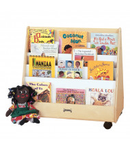 Jonti-Craft Pick-a-Book Mobile Display Stand (example of use)