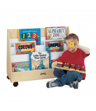 Jonti-Craft Small Pick-a-Book Mobile Display Stand (example of use)