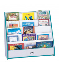 Jonti-Craft Rainbow Accents Flushback Pick-a-Book Display Stand (Shown in Teal)