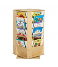 Jonti-Craft Revolving Small Book Display Tower (example of use)