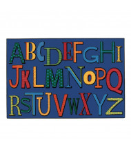 Carpets for Kids Playful Alphabet Rectangle Classroom Rug