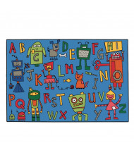 Carpets for Kids Reading Robots Rectangle Classroom Rug