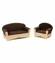 Jonti-Craft Preschool Komfy Sofa and Chair Set