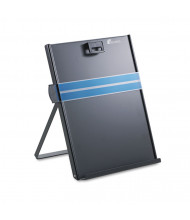 Fellowes 200-Sheet Capacity Stainless Steel Freestanding Copyholder, Black