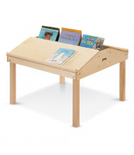 "Jonti-Craft 32"" W x 33"" D Quad Tablet And Reading Table"