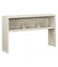 "HON 38000 Series 386560NQ 60"" W Stack-On Open Shelf Hutch, Light Grey"