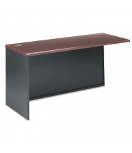 "HON 38000 Series 60"" Left Return Shell, Mahogany/Charcoal"