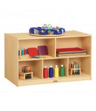 Jonti-Craft Low Double-Sided Island Island Classroom Storage Unit