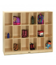 Jonti-Craft 18-Section Cubbie Locker Storage