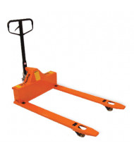 "Mighty Lift ML3348LP 3300 lb Load 4-Way Pallet Jack, 33""W x 48""L"