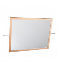 "Diversified Woodcrafts 4001K 27-3/4"" Markerboard & Mirror Combo for Mobile Lab Tables (markerboard side, crossbar not included)"