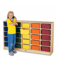 Jonti-Craft ThriftyKYDZ 25 Tub Mobile Classroom Storage (Does Not Include Tubs)